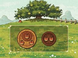 Professeur Layton et l'appel du spectre : Solution de l'énigme 034 : Rangez les pommes