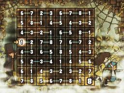 Professeur Layton et l'appel du spectre : Solution de l'énigme 046 : Voie toute tracée