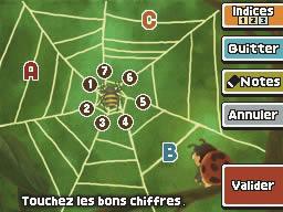 Professeur Layton et l'appel du spectre : Enigme 048 : La toile d'araignée