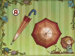 Professeur Layton et l'appel du spectre : Solution de l'énigme 058 : Parapluie perdu