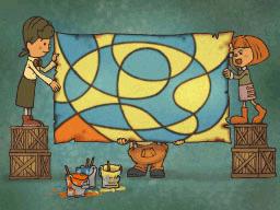 Professeur Layton et la Boite de Pandore : Solution Enigme 10 : Chef d'oeuvre
