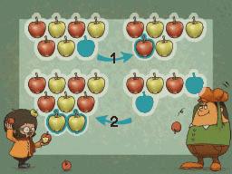 Professeur Layton et la Boite de Pandore : Solution énigme 31 : Pour ta pomme