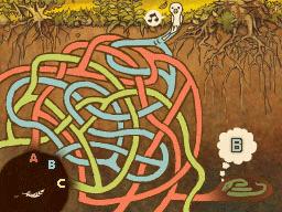 Professeur Layton et la Boite de Pandore : Solution énigme 36 : Poussin en détresse