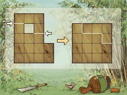 Professeur Layton et la Boite de Pandore : Solution énigme 42 : Planche à découper 1
