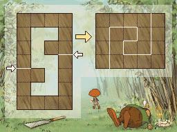 Professeur Layton et la Boite de Pandore :  Solution énigme 43 : Planche à découper 2