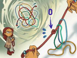 Professeur Layton et la Boite de Pandore : Solution énigme 44 : Entremêlés