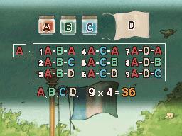 Professeur Layton et la Boite de Pandore :  Solution énigme 54 : Drapeau multicolore