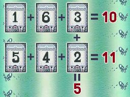 Professeur Layton et la Boite de Pandore : Solution énigme 63 : Cartes numérotées