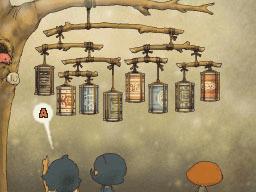 Professeur Layton et la Boite de Pandore : Solution énigme 73 : La ligue des lampions