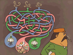 Professeur Layton et la Boite de Pandore : Solution énigme 74 : Pouah !