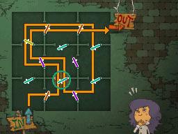 Professeur Layton et la Boite de Pandore : Solution énigme 78 : Porte à porte