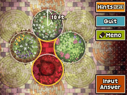 Professeur Layton et la Boite de Pandore : Enigme 89 : Flower Power
