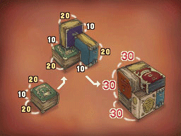 Professeur Layton et la Boite de Pandore : Solution énigme 95 : Rangez les livres