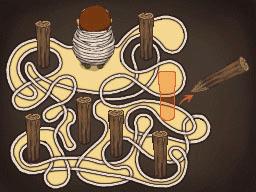 Professeur Layton et la Boite de Pandore : Solution énigme 131 : Pris au piège !