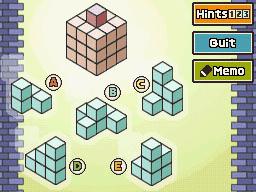 Professeur Layton et la Boite de Pandore : Enigme 140 : Pour un cube de plus