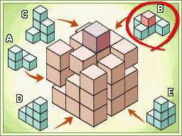 Professeur Layton et la Boite de Pandore : Solution énigme 140 : Pour un cube de plus