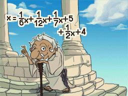 Professeur Layton et la Boite de Pandore :  Solution énigme 142 : Une vie