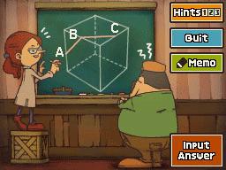 Professeur Layton et la Boite de Pandore :  Enigme 146 : Boîte à angles