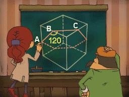 Professeur Layton et la Boite de Pandore :  Solution énigme 146 : Boîte à angles