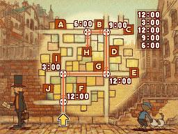 Professeur Layton et le Destin perdu : Solution de l'énigme 2 : L'horlogerie