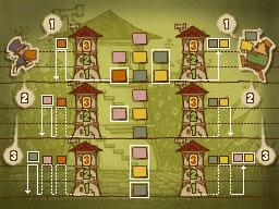 Professeur Layton et le Destin perdu : Solution de l'énigme 4 : Carton plein