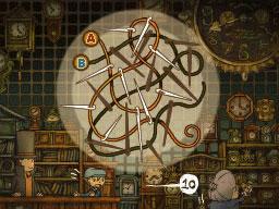 Professeur Layton et le Destin perdu : Solution de l'énigme 6 : De fil en aiguille