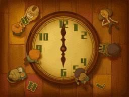 Professeur Layton et le Destin perdu : Solution de l'énigme 7 : Horloge parlante