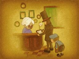 Professeur Layton et le Destin perdu : Solution de l'énigme 13 : Panne de stylo
