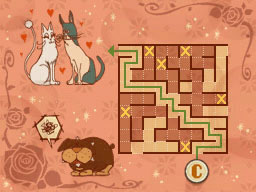 Professeur Layton et le Destin perdu : Solution de l'énigme 37 : C'est chat l'amour