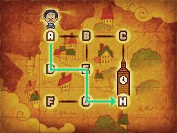 Professeur Layton et le Destin perdu : Solution de l'énigme 44 : La tour de l'horloge