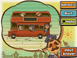 Professeur Layton et le Destin perdu : Enigme 45 : Tous dans le bus