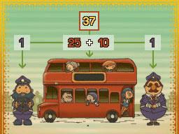 Professeur Layton et le Destin perdu : Solution de l'énigme 45 : Tous dans le bus