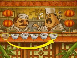 Professeur Layton et le Destin perdu : Solution de l'énigme 67 : Défilé de soupes 1