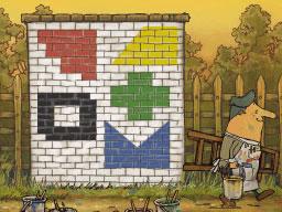 Professeur Layton et le Destin perdu : Solution de l'énigme 71 : Fresque murale