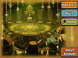 Professeur Layton et le Destin perdu : Enigme 76 : Table ronde