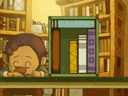 Professeur Layton et le Destin perdu : Solution de l'énigme 83 : Un livre, une place