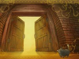 Professeur Layton et le Destin perdu : Solution de l'énigme 86 : La première porte
