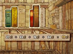 Professeur Layton et le Destin perdu : Solution de l'énigme 102 : Livres de compte