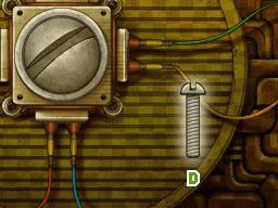 Professeur Layton et le Destin perdu : Solution de l'énigme 118 : Vis cachée