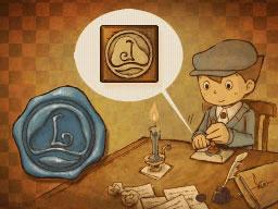 Professeur Layton et le Destin perdu : Solution de l'énigme 130 : Le sceau de la fin