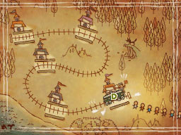Professeur Layton et le Destin perdu : Solution de l'énigme 136 : Sur les rails