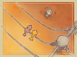 Professeur Layton et le Destin perdu : Solution de l'énigme 146 : Drôles d'oiseaux