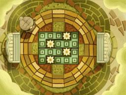 Professeur Layton et le Destin perdu : Solution de l'énigme 147 : Jardin pavé